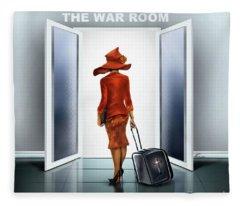 The War Room Fleece Blanket