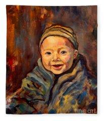The Warmth Of Winter Fleece Blanket