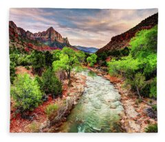 The Watchman  Fleece Blanket
