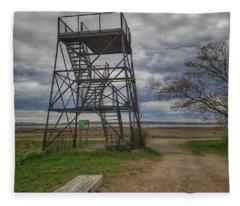 The Watchtower  Fleece Blanket
