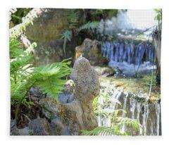 The Water And Rock Spot Fleece Blanket