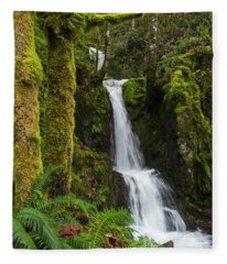 The Water Staircase Fleece Blanket