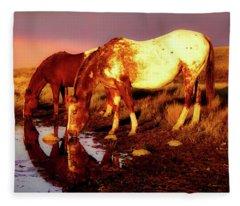 The Watering Hole Fleece Blanket