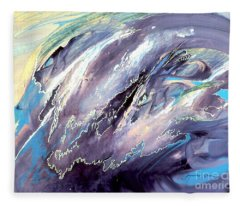 The Wave That Never Crashes Fleece Blanket