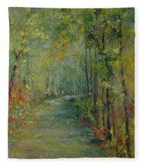The Way To Tranquility  Fleece Blanket