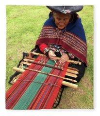 The Weaver Fleece Blanket
