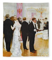 The Wedding Reception Fleece Blanket