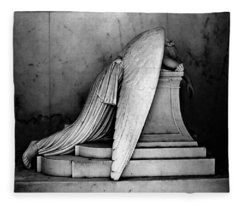 The Weeping Angel Fleece Blanket