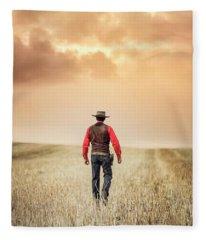 The Westerner Fleece Blanket