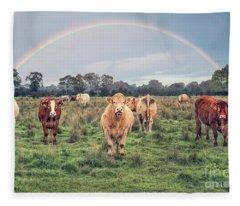 The Wild Frontier Fleece Blanket