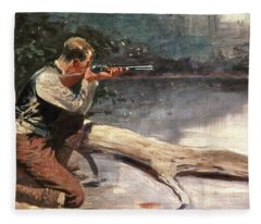 The Winchester Fleece Blanket