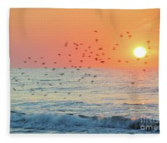 The Wind Calls My Name Fleece Blanket
