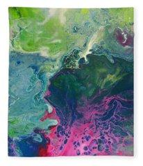 The Windward Nebula Fleece Blanket