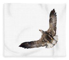 The Wings Of An Eagle 2018 Isolated Fleece Blanket