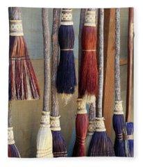 The Witches Brooms Fleece Blanket
