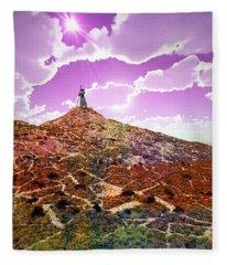 The Wizzard Fleece Blanket