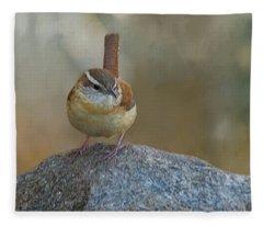 The Wren Fleece Blanket