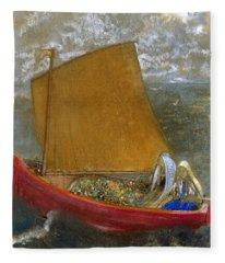 The Yellow Sail Fleece Blanket