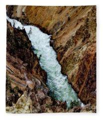 The Yellowstone Fleece Blanket