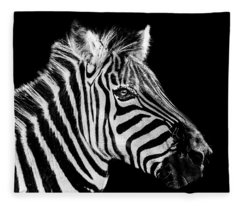 The Zebra Stripes Fleece Blanket