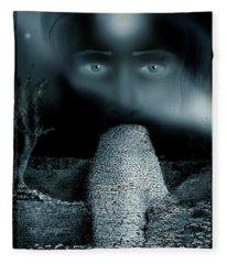 The  Great Zimbabwe Ruins Mystery Fleece Blanket