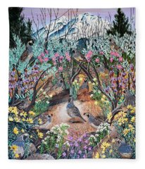 There's One In Every Crowd Fleece Blanket