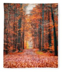 Thetford Forest Fleece Blanket
