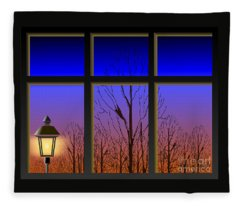 The Window II Fleece Blanket