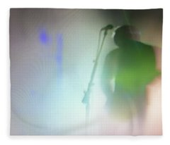 Fleece Blanket featuring the photograph They Came Bearing Guitars by Alex Lapidus