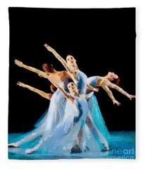 They Danced Fleece Blanket