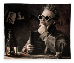 Things To Consider - Steampunk - World Domination Fleece Blanket