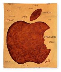 Think Different Steve Jobs 2 Fleece Blanket
