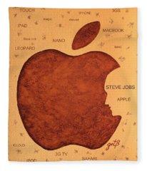 Think Different Steve Jobs  Fleece Blanket