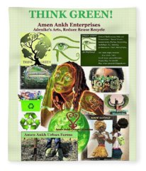 Think Green Fleece Blanket