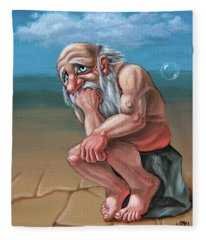 Thinker Fleece Blanket