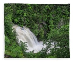 Third Falls Fleece Blanket