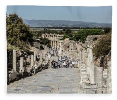 This Is Ephesus Fleece Blanket