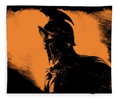 This Is Sparta Fleece Blanket