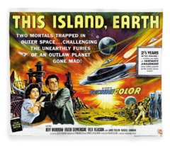 This Island Earth Science Fiction Classic Movie Fleece Blanket