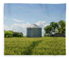 This Road Will Lead You Home Fleece Blanket