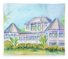 Thistle Lodge Casa Ybel Resort  Fleece Blanket