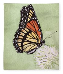 Thistle Do Fleece Blanket