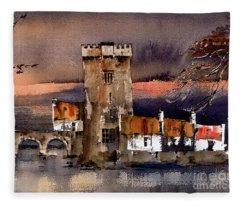 Thoor Ballylee, Galway...8351 Fleece Blanket