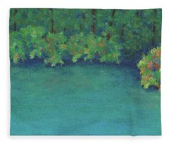 Thoreau's Cove Fleece Blanket