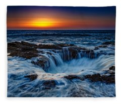 Thor's Well Fleece Blanket