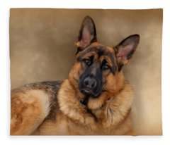 Those Eyes Fleece Blanket