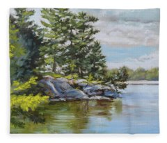 Thousand Islands Fleece Blanket