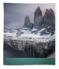 Three Giants Fleece Blanket