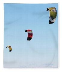Three Kites Fleece Blanket