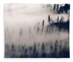 Three Ridges Fog Fleece Blanket